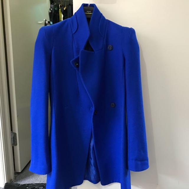 Arthur Galán Wool Coat Size 6