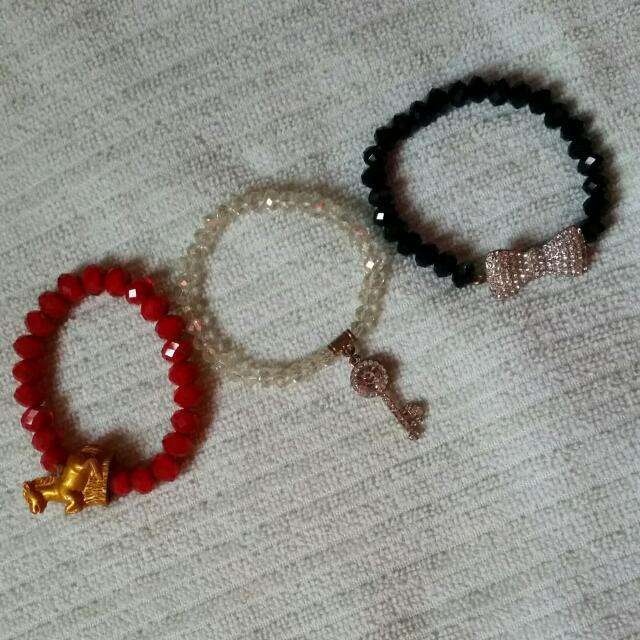 Assorted Bracelets 3 For 60.00