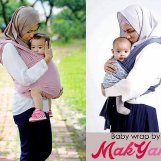 Baby Wrap By Makyang Babies Kids Nursing Feeding On Carousell