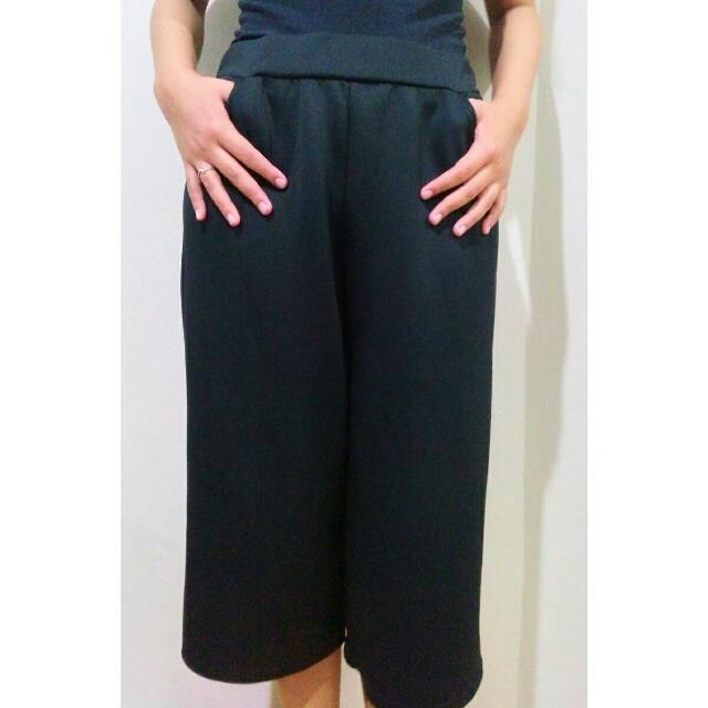 Basic Culottes (Black)
