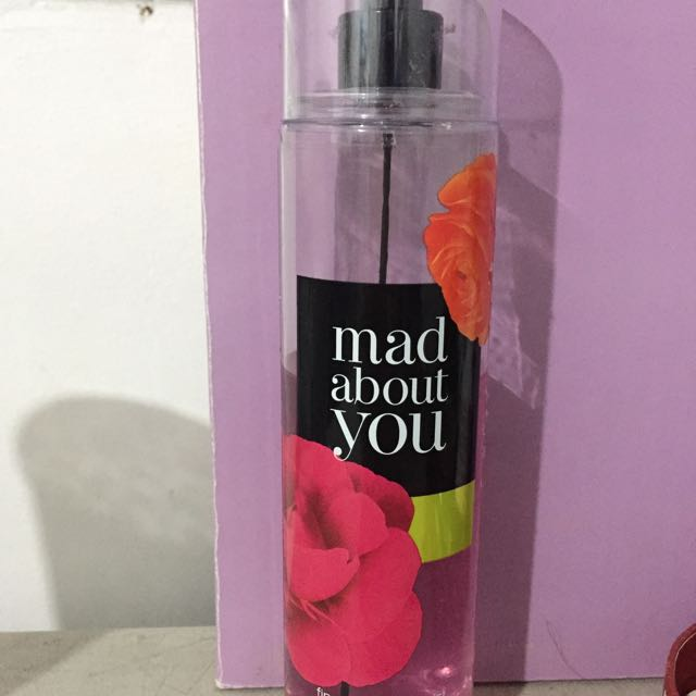 Bath And Body Works Body Mist (Mad About You)