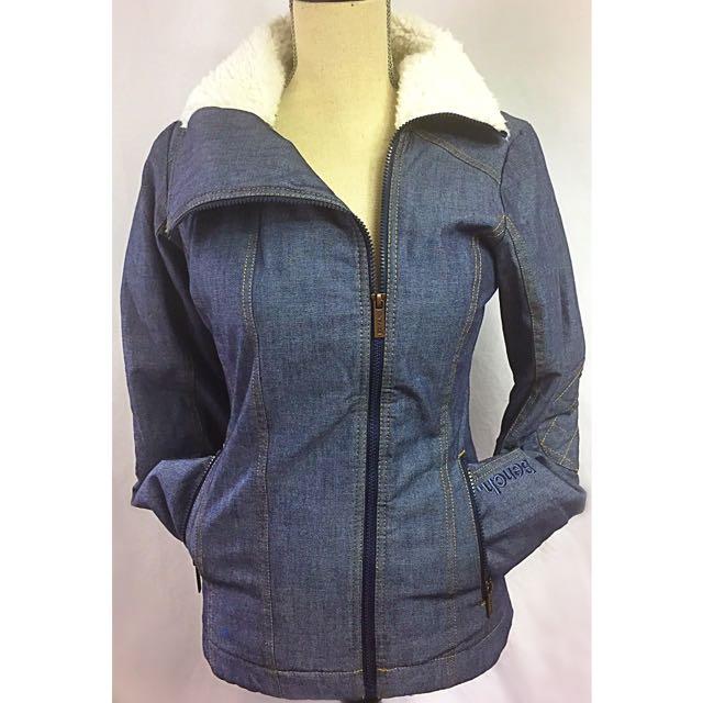 bench denim lined jacket