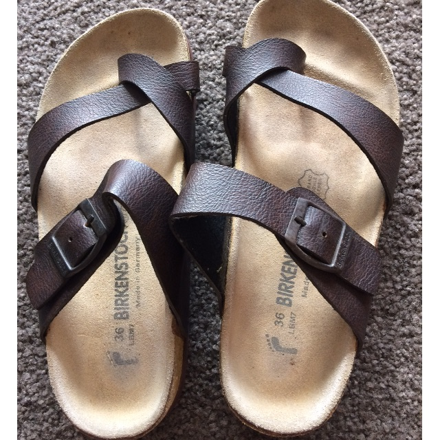 Birkenstock, size 36, good condition