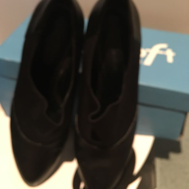 Black Ankle Boot Size 39