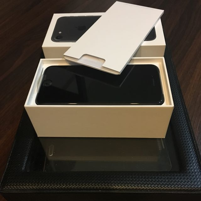 iPhone7 Black 256gb
