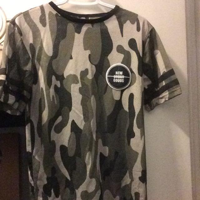 H&M Camo T-shirt