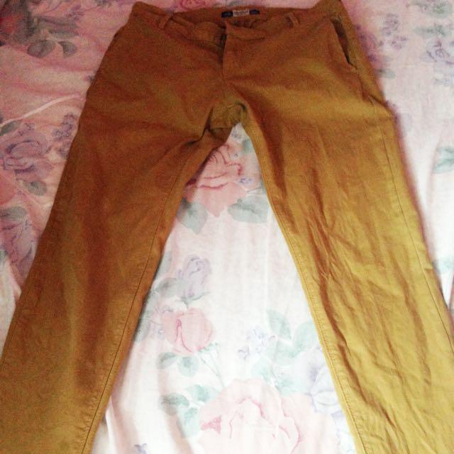 Chino Jeans Pull N Bear Ori Size 38