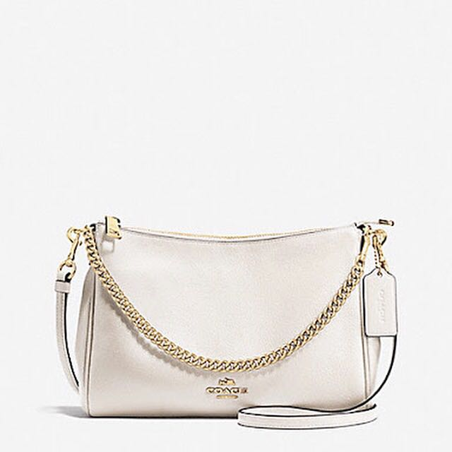 Coach pebbled leather crossbody (Authentic)