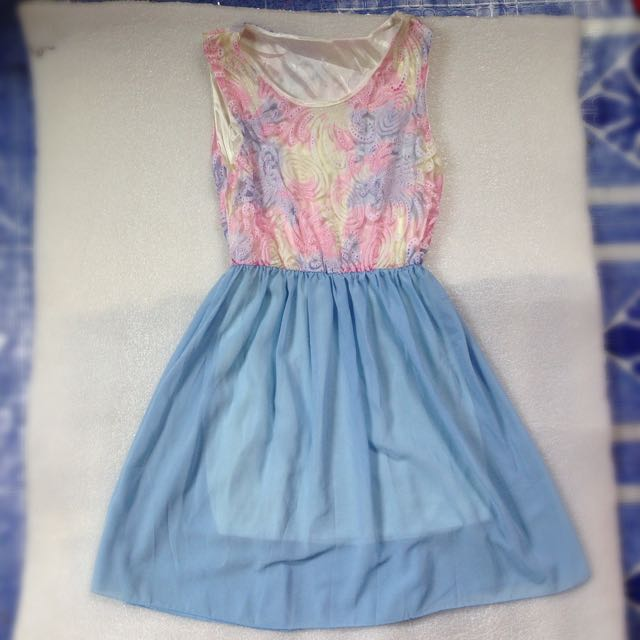 🎉Cotton Candy Top Dress
