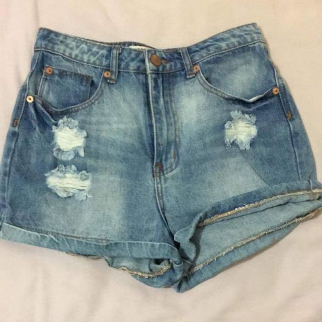 Cotton On Ripped Shorts
