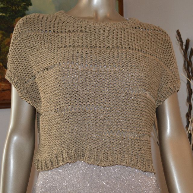 Country Road cropped knitted jumper