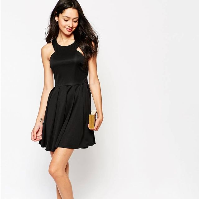 Cute Black Dress!