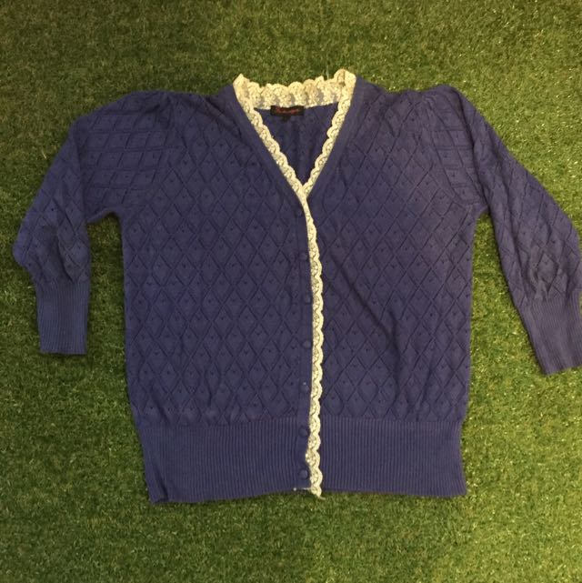 Cute Summer Cardigan Size Large