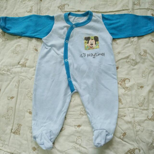 Disney Baby Overall Mickey Mouse