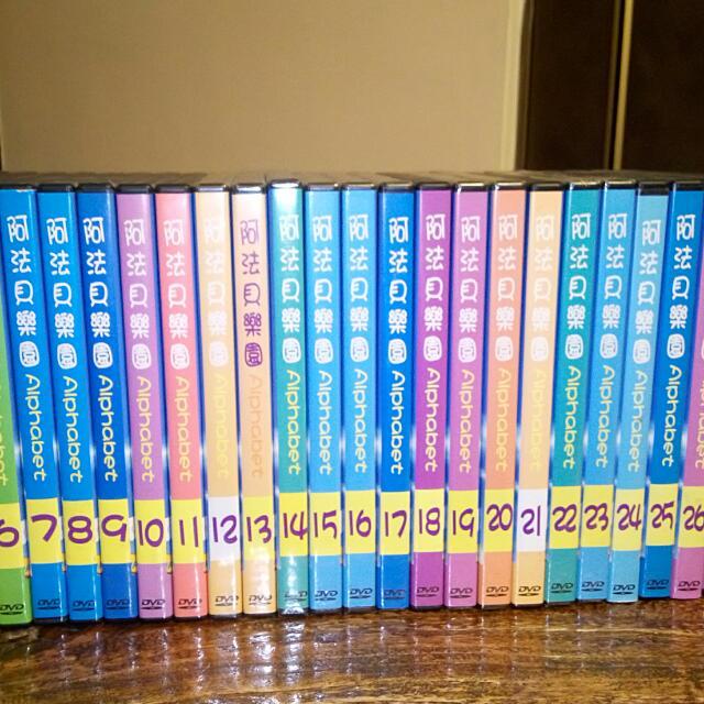 二手全新英文DVD光碟