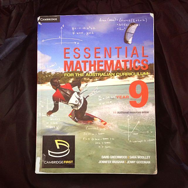 Essential Mathematics Year 9 Cambridge