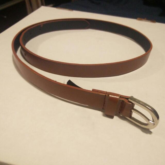 Express Leather Brown Belt