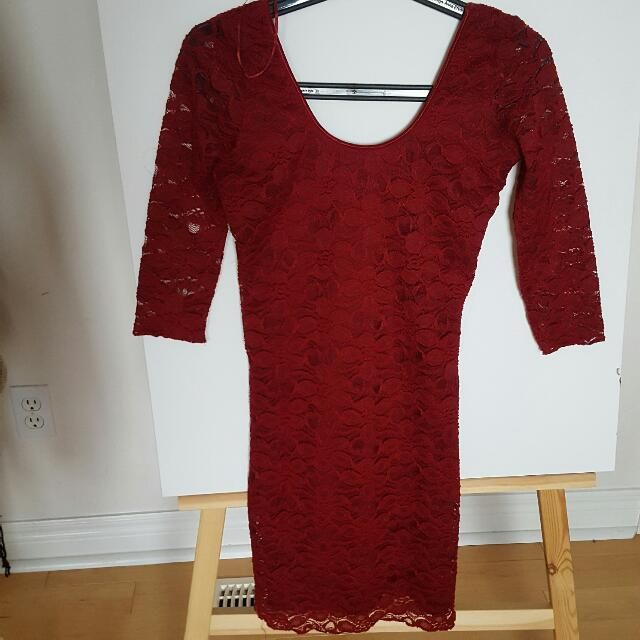 Forever 21 Longsleeve Lace Dress