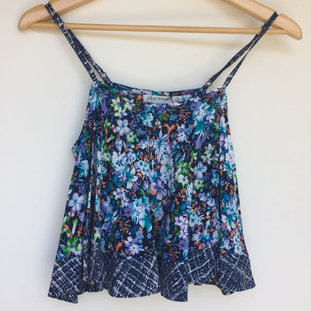 Frilly Summer Top