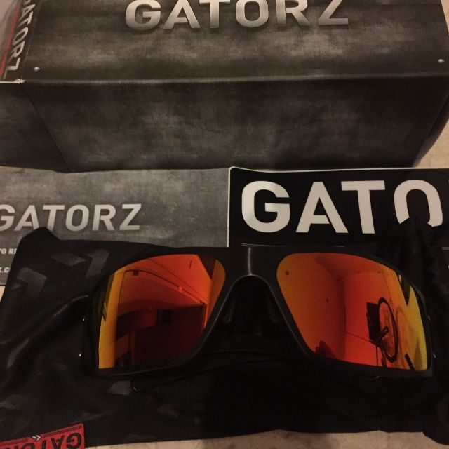 3041a5bbbc Gatorz Magnum Sunburst Polarized Sunglasses