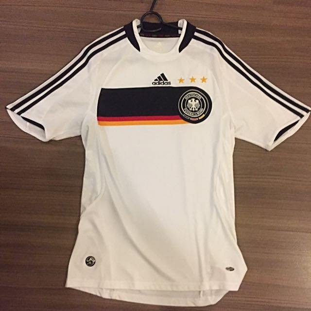 Germany 2008 Home Jersey Replica