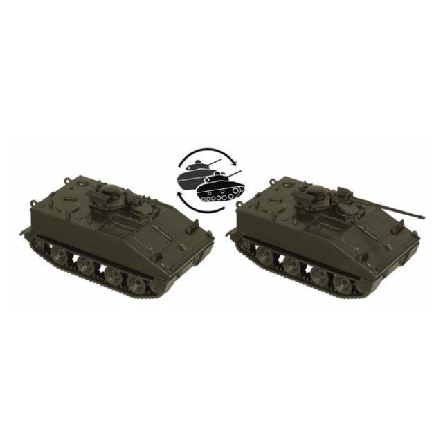 [H0 1/87] Military - US M114 armored fighting vehicle [miniTank] NEW
