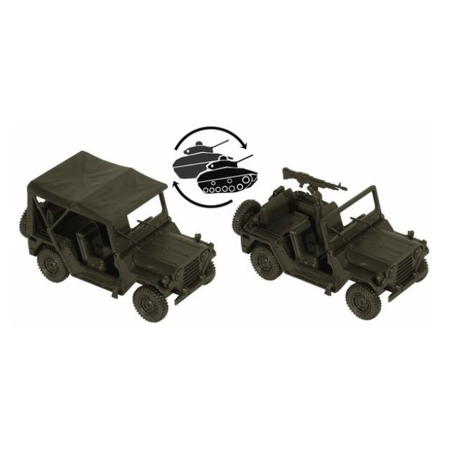 [H0 1/87] Military - US M151 Ford Mutt Truck, Utility, 1/4-Ton, 4×4 [miniTank] NEW
