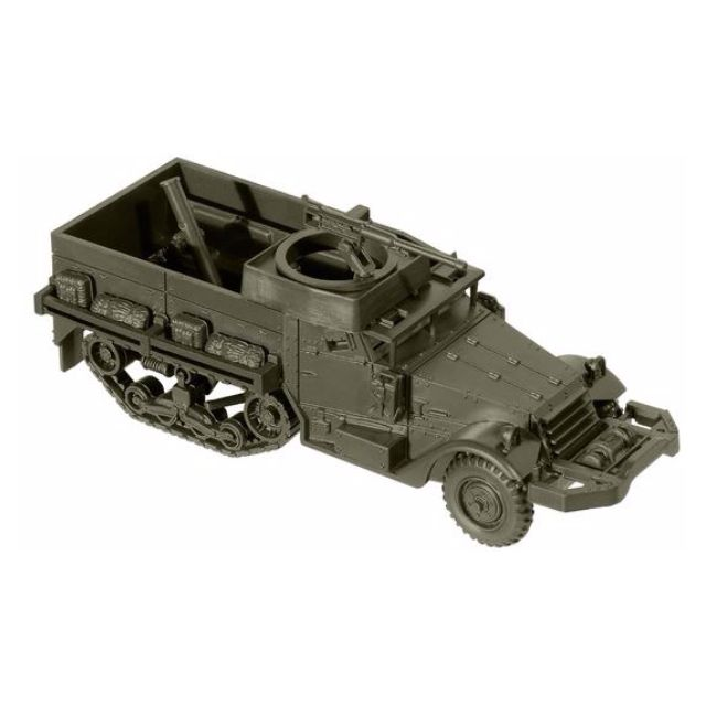 [H0 1/87] Military - US M21 Artillery On A Half-Track Chassis [miniTank] NEW