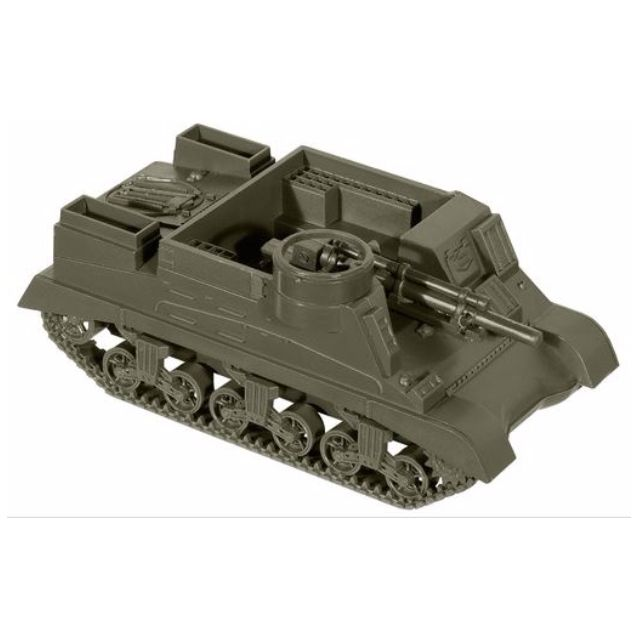 [H0 1/87] Military - US M7 105 mm Howitzer Motor Carriage [miniTank] NEW