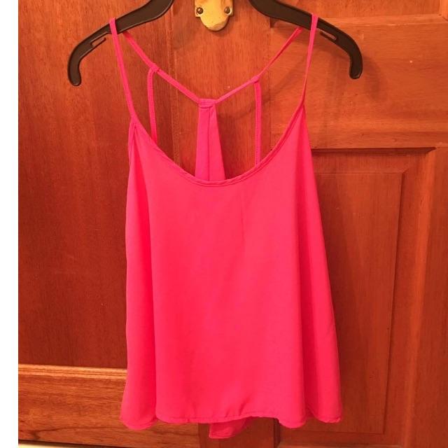 Hot pink summer top