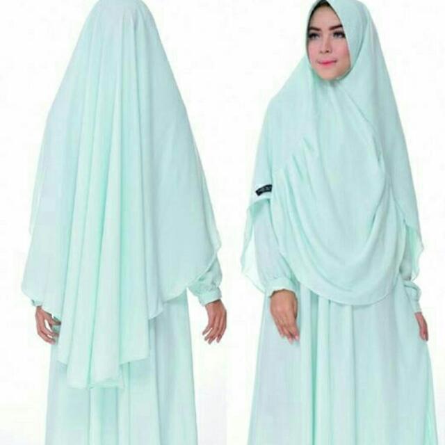 Humaira Syari Ori Baju Hijab Wanita Maxi Gamis Dress Women S