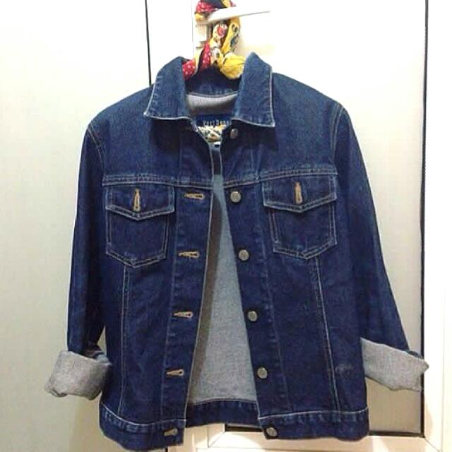 Jeans Jaket Denim Casual