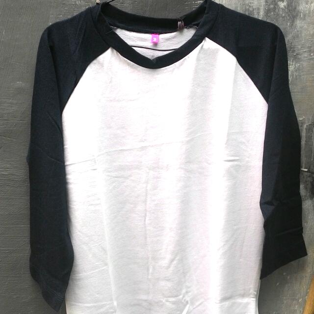 Kaos Raglan 24s Cotton