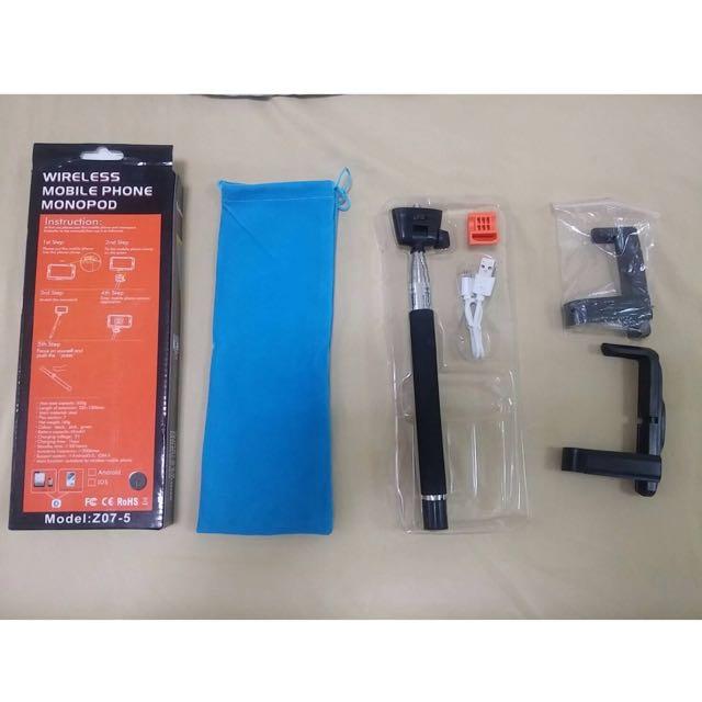 Kjstar Z07-5 (V2) 無線藍芽自拍棒