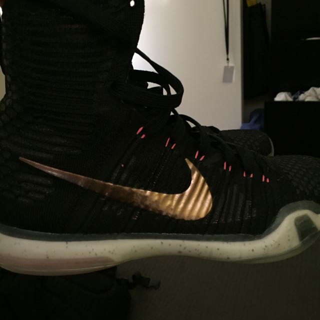 Kobe 10 Elite Rose Gold (URGENT SALE THATS Y SO CHEAP !!
