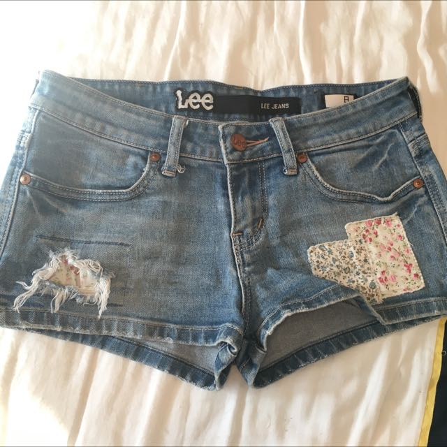 Lee Rider Shorts Size 8