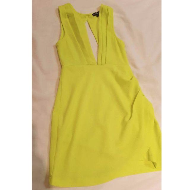 Lime club dress