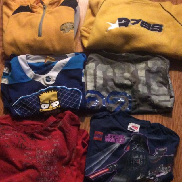 Lot Of Boys Shirts