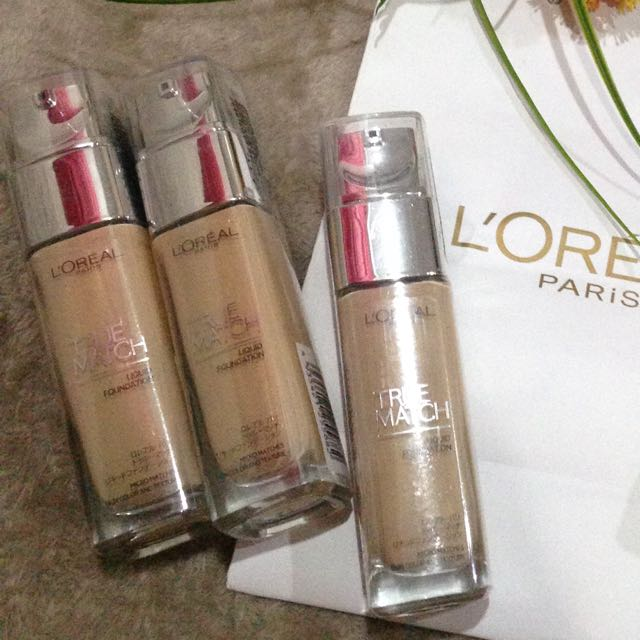 LOTEAL TRUE MATCH FOUNDATION
