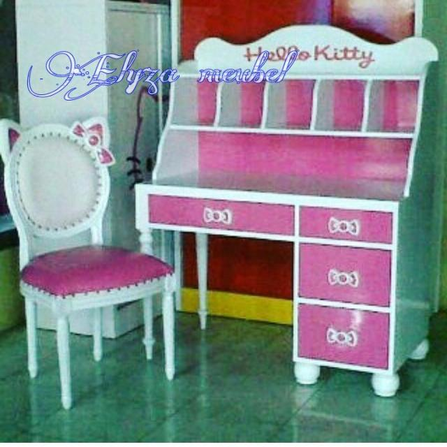 Meja Belajar Hello Kitty Home Furniture On Carousell