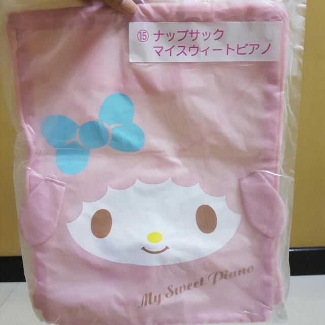 melody drawstring bag
