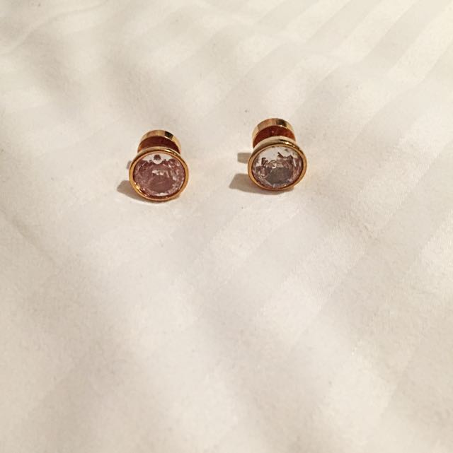 Michael Kors Rose Gold Studs