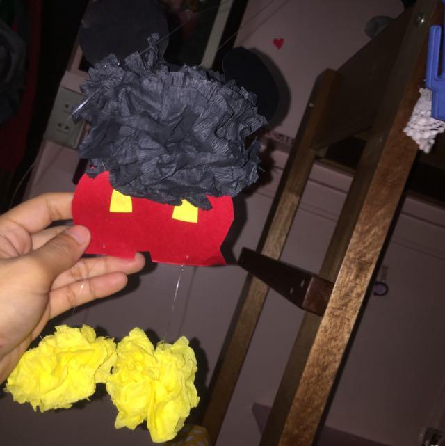 Mickey Mouse Pompoms
