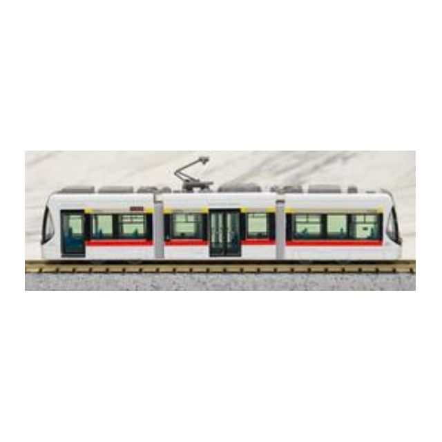 [N 1/150] Japanese Tram Toyama Chiho Railway Type T100  [Tomytec] NEW