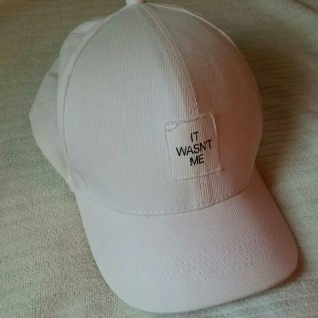 Penshoppe White Cap