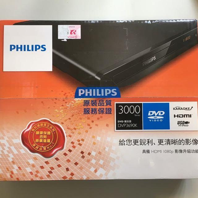 PHILIPS DVD 播放機