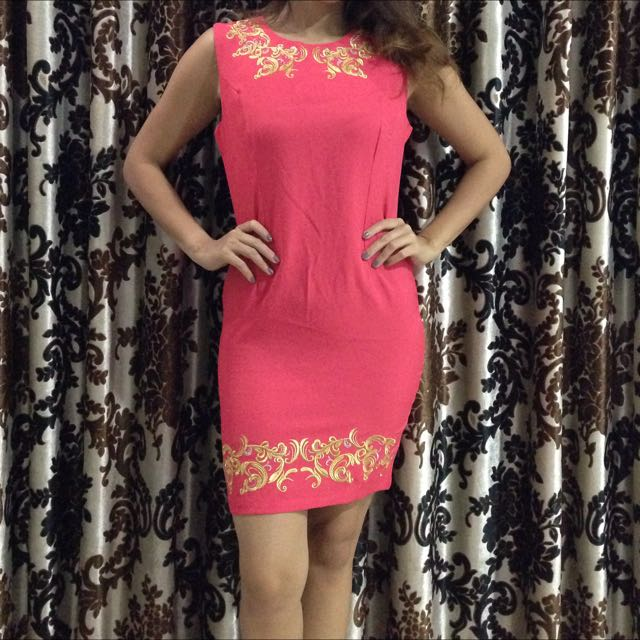 Pinky Mini Dress