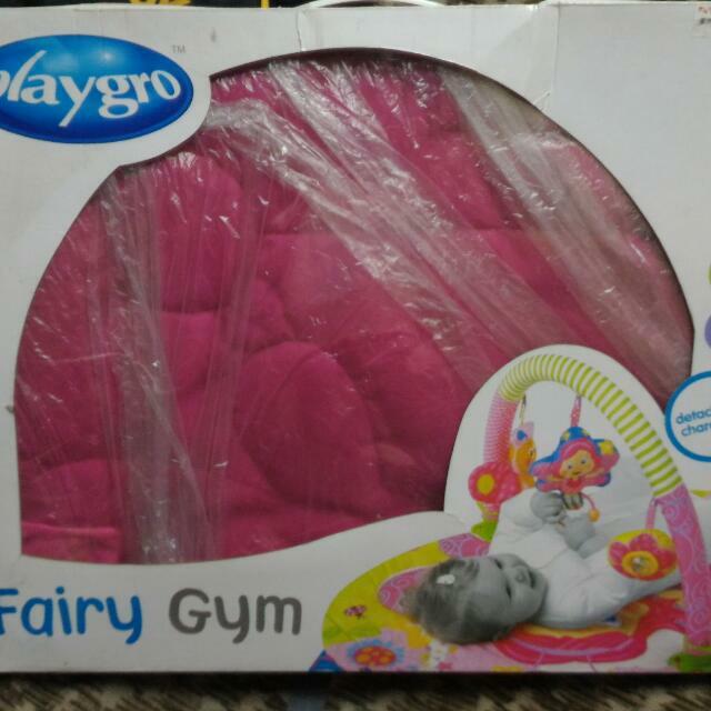 Playgro Fairy Gym And Looney Toons Newborn Travel Set