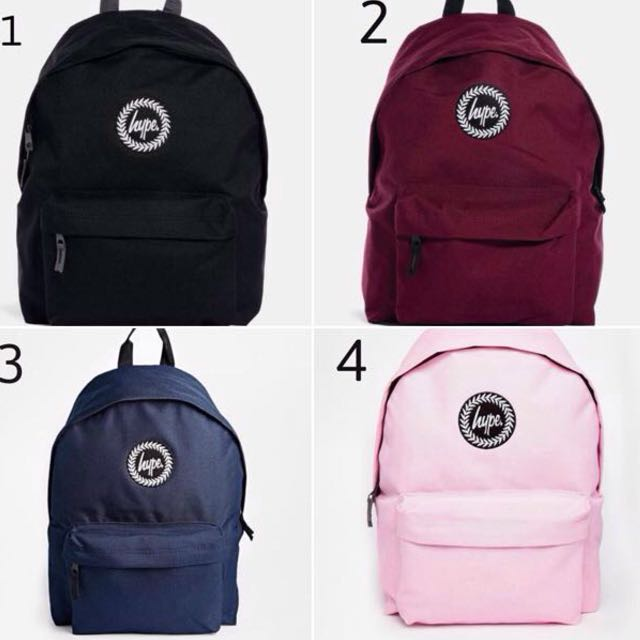 [PO] HYPE BACKPACK AUTHENTIC