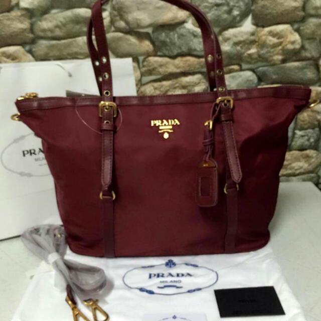 43578cdf4 Pranda Bag, Luxury, Bags & Wallets on Carousell